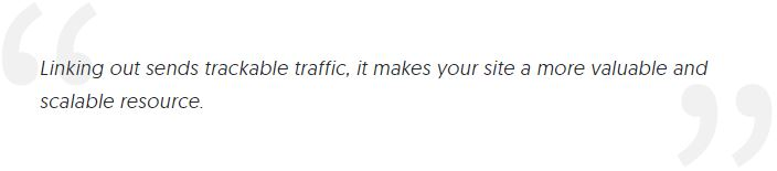Quote from SEO expert, Rand Fishkin